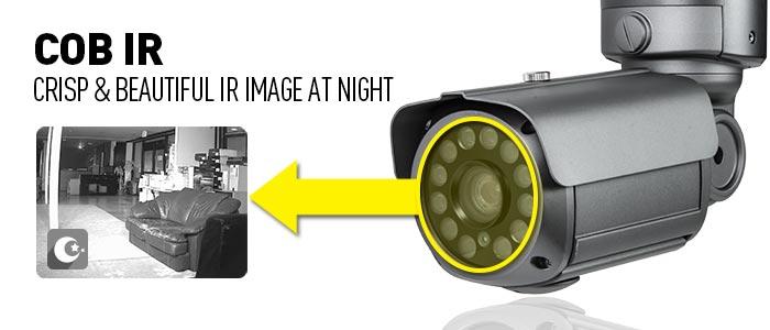 COB IR : Crisp & beautiful IR image at night