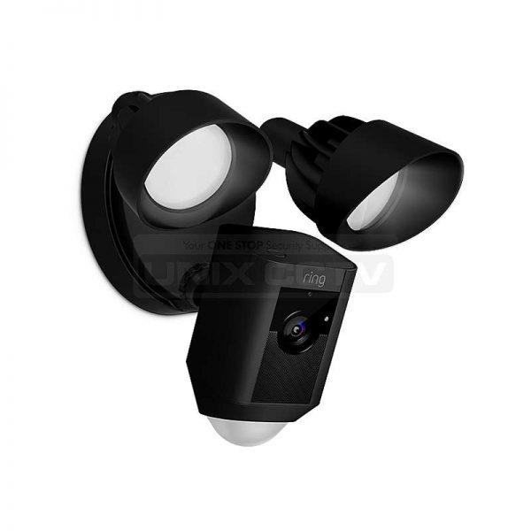 Ring Floodlight Cam / Motion-activated / Siren Alarm / 2-Way Talk / 1080p /  Black Case