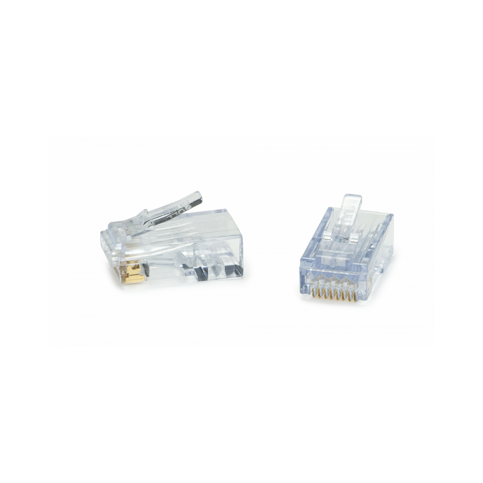 Easy Termination CAT6A RJ45 Shielded Connector CAT6 10pc Pack