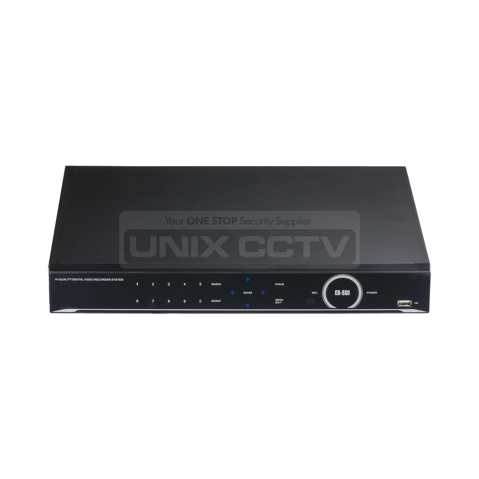 Magic QX Series | 16CH Octa-brid DVR System, H 265, 4K Output, 2 HDD