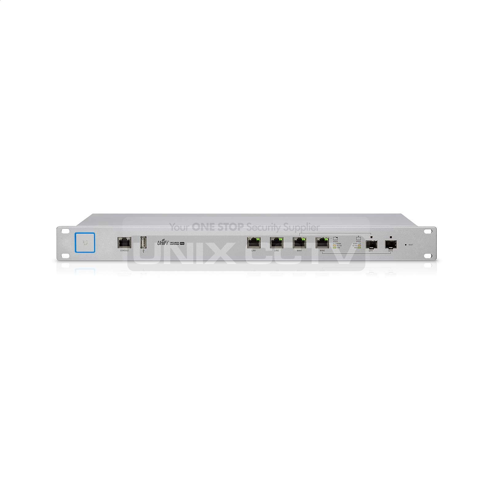 Ubiquiti® USG-PRO-4 | UniFi® Enterprise Security Gateway Router with  Gigabit Ethernet, 2 SFP Ports, Rack-mounting Capability